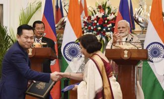 India, Cambodia sign four agreements