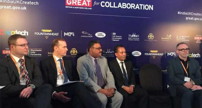 First EVER INDIA-UK Createch summit produces £58m in commerical deals