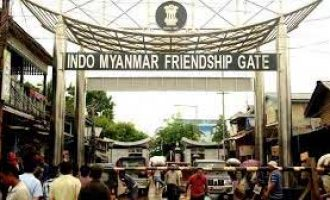 India-Myanmar border sealed