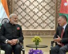 Prime Minister, Narendra Modi with the King of Jordan His Majesty Abdullah II Bin Al-Hussein