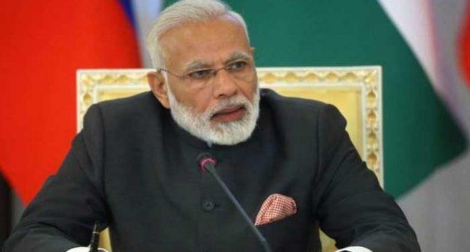 Modi promotes Modicare among Indian diaspora in Oman