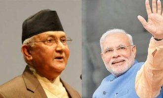 Modi congratulates Nepal's Oli, invites him to India