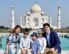 Canadian PM visits Mathura wildlife sanctuary
