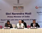 Modi urges Korean investors to take advantage of India's market
