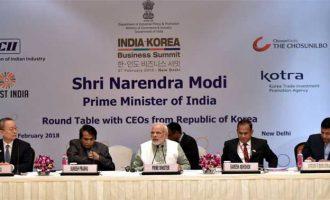 Modi urges Korean investors to take advantage of India's market