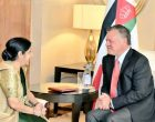 External Affairs Minister Sushma Swaraj calls on Jordan King