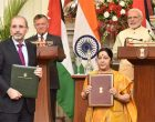 India, Jordan renew support for Palestine, sign 12 agreements