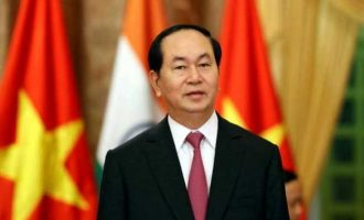 Vietnam President arrives in Delhi on three-day visit