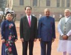 Vietnam President accorded ceremonial welcome