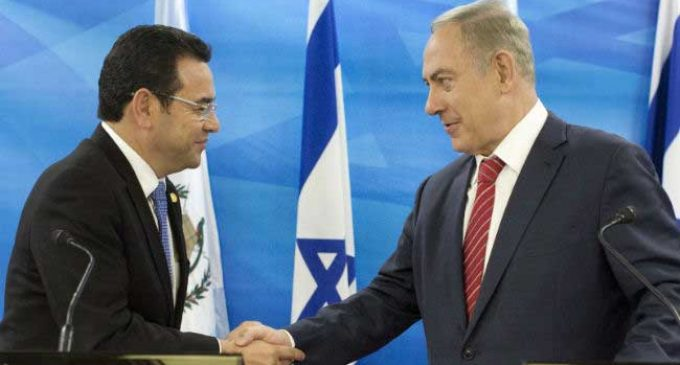 Guatemala to move embassy in Israel to Jerusalem