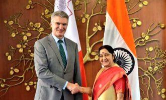 India, Malta discuss steps to strengthen ties