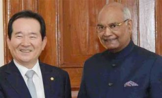 PARLIAMENTARY DELEGATION FROM REPUBLIC OF KOREA CALLS ON THE PRESIDENT