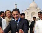 French President visits Taj Mahal