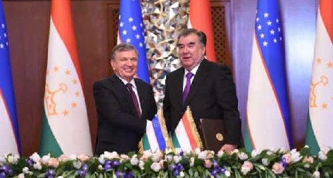 First state visit of the President of Uzbekistan to Tajikistan