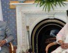 President, Ram Nath Kovind meeting the President of the Republic of Mauritius, Ameenah Gurib-Fakim,