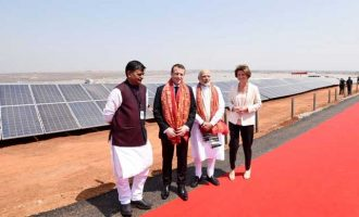 Modi-Macron inaugurate UP's biggest solar plant