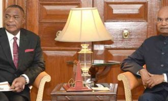 VICE PRESIDENT OF ZIMBABWE CALLS ON THE PRESIDENT