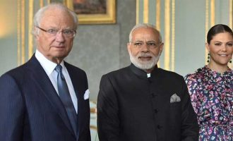 Modi meets King of Sweden