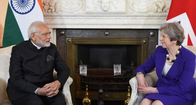 UK AND INDIA RESEARCH PARTNERSHIP REACHES £400 MILLION