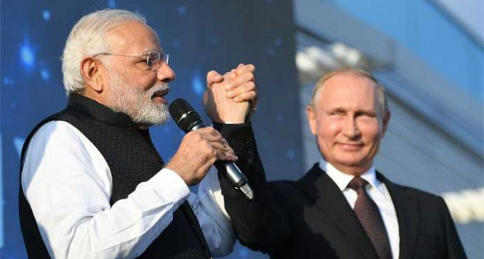 Russia announces highest Order for Modi