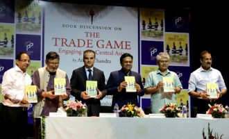 "Diplomacyindia.com Video : Exclusive Interview with Dr. Amiya Chandra, ITS and Author of Book on ""The Trade Game, Engaging with Central Asia"""