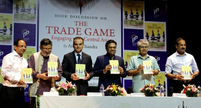 """Diplomacyindia.com Video : Exclusive Interview with Dr. Amiya Chandra, ITS and Author of Book on """"The Trade Game, Engaging with Central Asia"""""""
