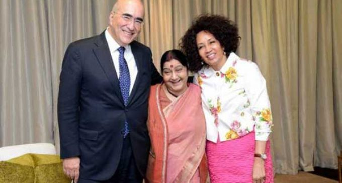 India, Brazil, South Africa discuss South-South cooperation