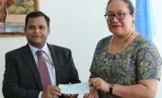 India contributes $250K to UN's landlocked countries programme