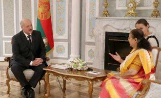 'INDIA AND BELARUS WILL STRENGTHEN BILATERAL RELATIONSHIP', SAYS LOK SABHA SPEAKER