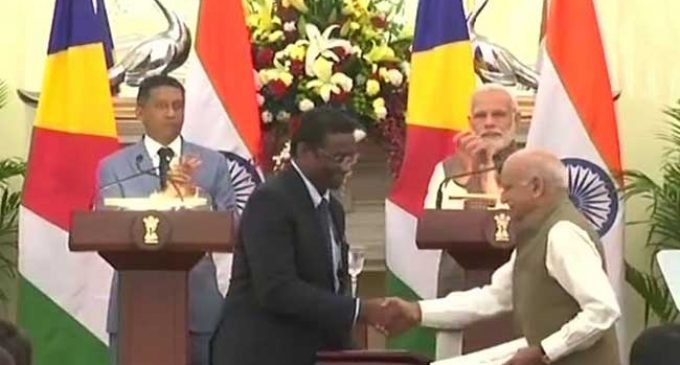 India lends $100 million for Seychelles defence