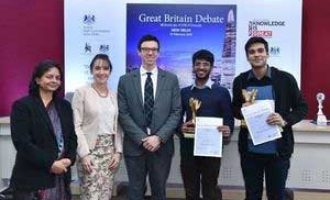 GREAT Britain Debate 2018: Hansraj College Students Declared Winners