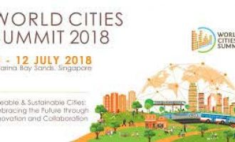 World Cities Summit 2018 kicks off in Singapore