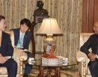 President of the Republic of South Korea, Moon Jae-in meeting the President, Ram Nath Kovind