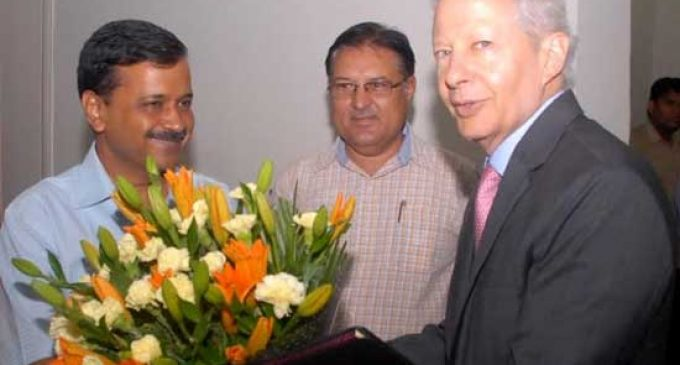 US Ambassador to India calls on Delhi Chief Minister