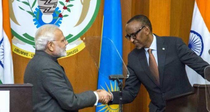 India, Rwanda review bilateral ties, sign 8 MoUs