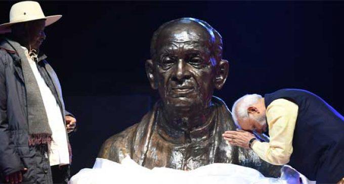Modi thanks Uganda for hosting Indian community