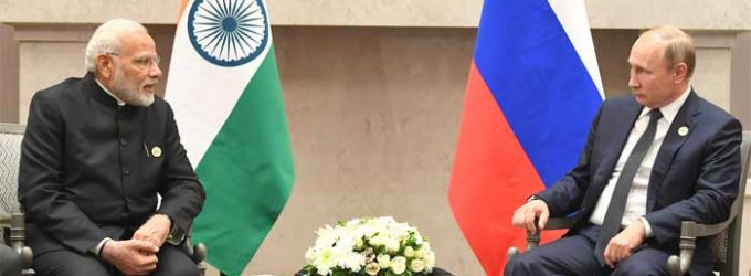 India, Russia discuss bilateral trade, defence