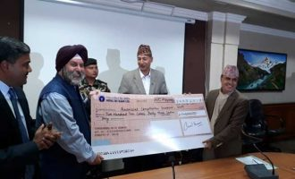 India gives Nepal 2.1-billion Nepalese rupees aid