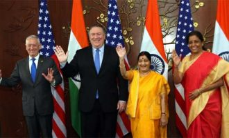 India, US sign key defence pact