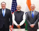 US Secretaries of State and Defence call on Modi