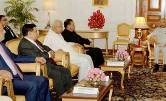 PARLIAMENTARY DELEGATION FROM SRI LANKA CALLS ON THE PRESIDENT