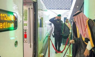 Saudi king inaugurates Mecca-Medina high speed train line