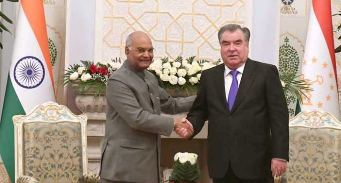 India, Tajikistan to cooperate on connectivity, counter-terror