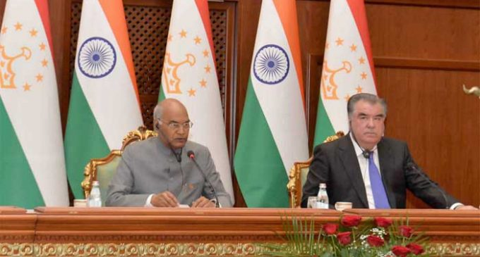 India lauds Tajikistan's fight against radicalisation