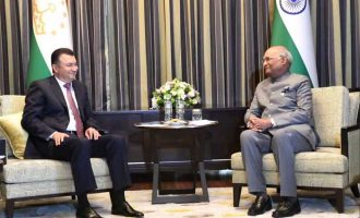 Kohir Rasulzoda, Prime Minister of Tajikistan Called on The President of India, Ram Nath Kovind