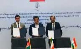 India, Iran, Afghanistan discuss Chabahar port