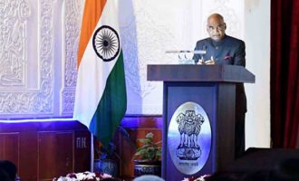 PRESIDENT KOVIND IN TAJIKISTAN; ADDRESSES INDIAN COMMUNITY; SAYS OUR DIASPORA IS KEY PARTNER IN INDIA'S INTERNATIONAL OUTREACH
