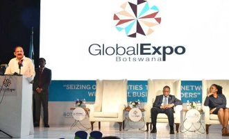 Indian President, Venkaiah Naidu opens Global Expo Botswana 2018