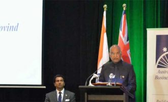 Kovind invites Australians to benefit from India's growth story