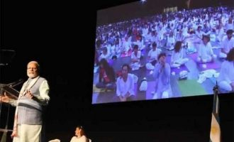 Modi attends 'Yoga for Peace' event in Argentina